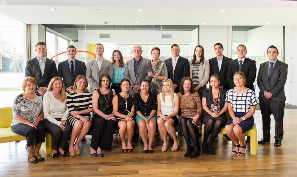 Perth group staff photography